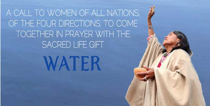 Gebet zur Heilung der Gewässer