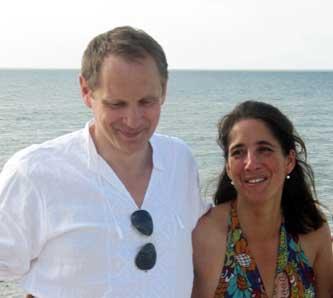 Claudia Shkatov und ihr Mann