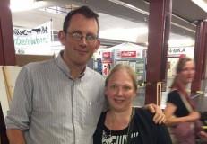 Rob Hoskins mit Stephanie