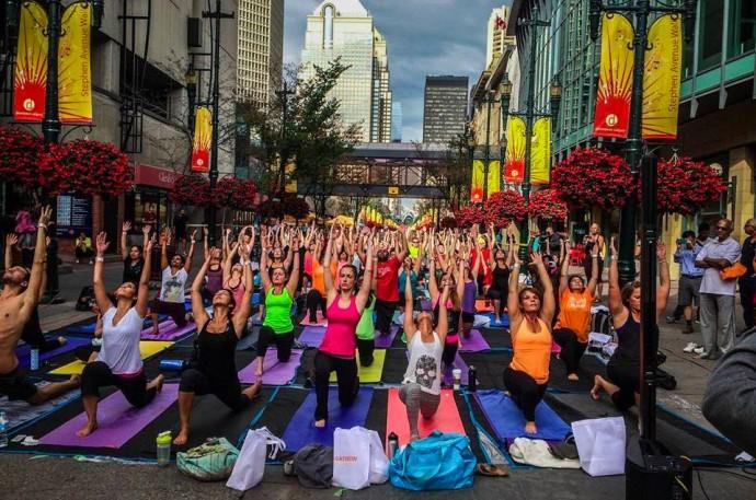 Foto: yogathon