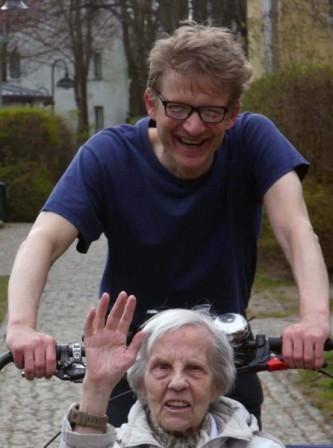 Calle als Radler ohne Alter