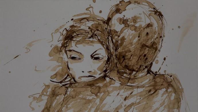 Zeichnung Viola Winokan