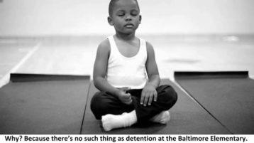 Meditation statt Strafe