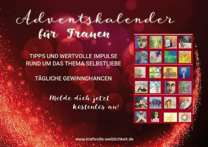 adventskalender f r frauen newslichter gute nachrichten online. Black Bedroom Furniture Sets. Home Design Ideas