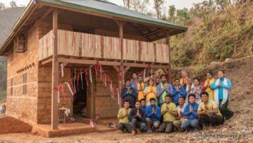 Erdbebensicheres Haus in Nepal