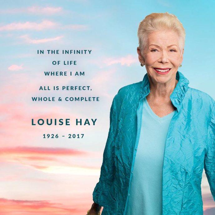 Rücklicht: Danke Louise Hay