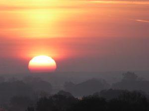 Lichtbild: Herbstsonne