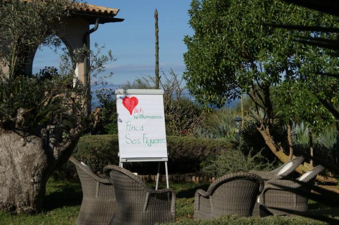 Paradiesische Seminarfinca auf Mallorca zu mieten