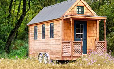 Tiny-House bei Tchibo