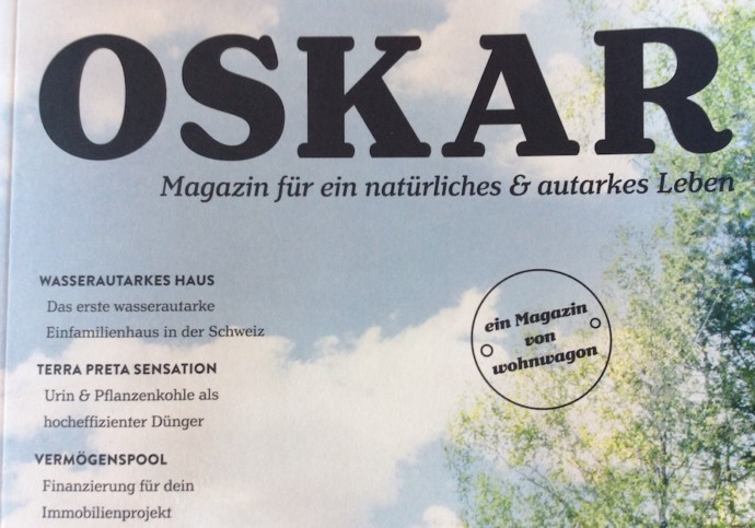 Lesetipp: Das neue Oskar-Magazin