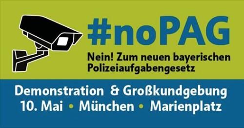 NEIN zum Polizeiaufgabengesetz Bayern