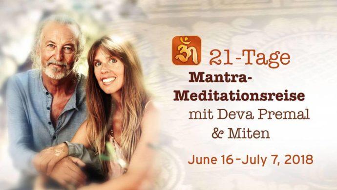 Mantra-Meditationsreise mit Deva Premal & Miten