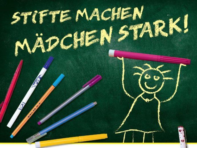 Mitmachen: Stifte für Bildung