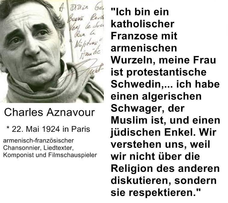 Rücklicht: Charles Aznavour