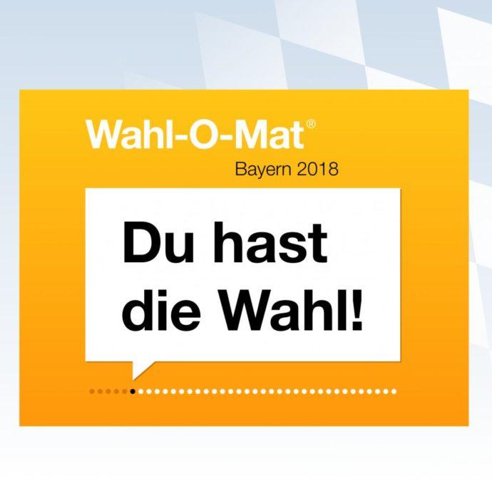 Wahl-O-Mat Bayern