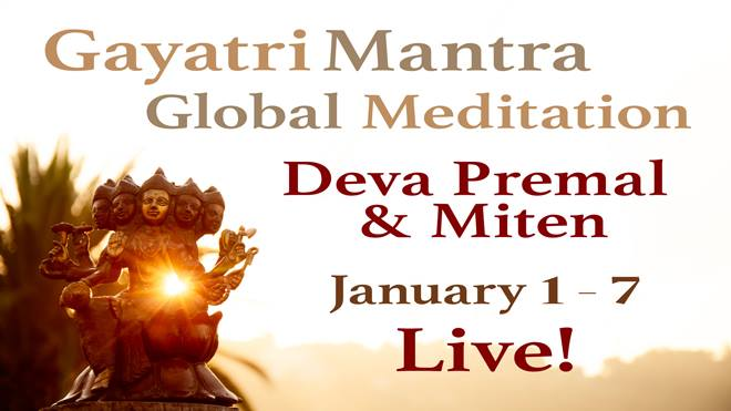Gayatri Mantra Global Meditation