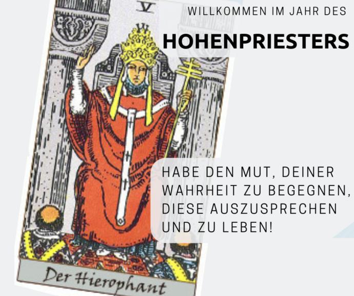 2019 aus Tarotsicht: Der Hohepriester