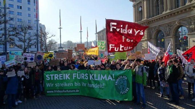 Solidarität mit den Fridays for Future Protesten!