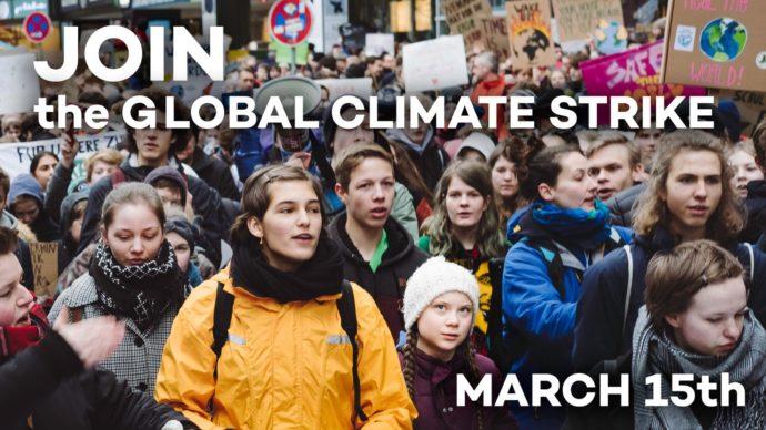 Weltweiter Streik für Klimaschutz am 15. März