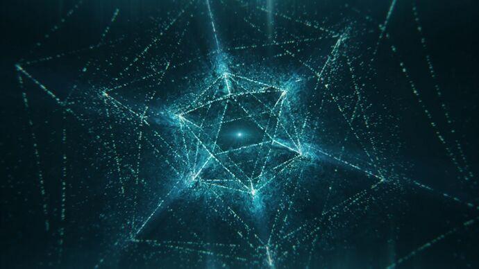 Lichtbilder: Metatrons Würfel