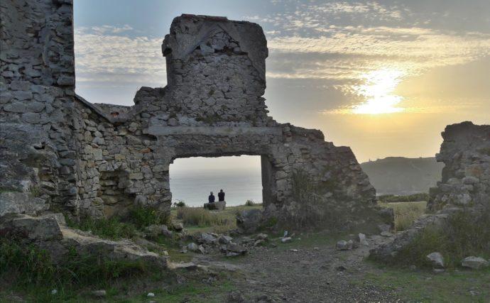 Lichtbild aus der Bretagne