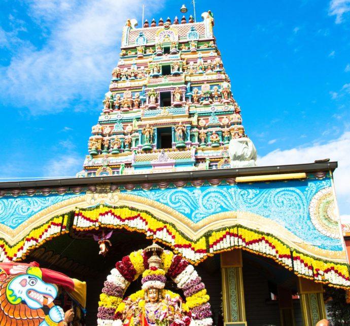 Hinduistisches Tempelfest in Hamm