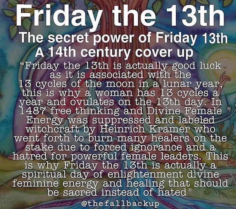 Die geheime Kraft von Freitag den 13ten