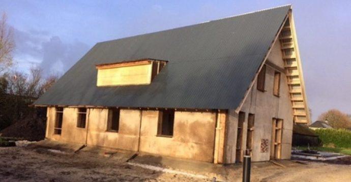 Erstes Hanfhaus