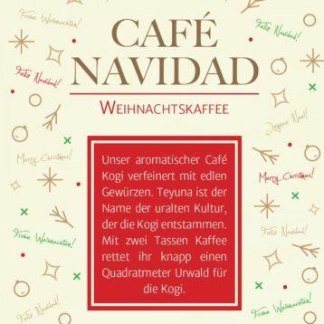 CAFÉ NAVIDAD – Weihnachtskaffee mit Gewürzen