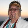 Rücklicht: Großmutter Agnes Baker-Pilgrim