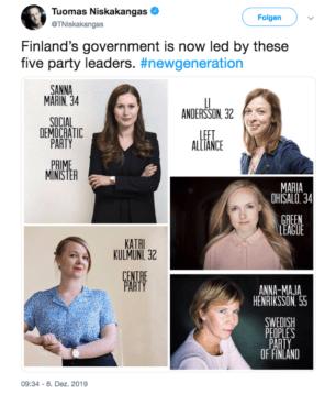 Regierung der Frauen