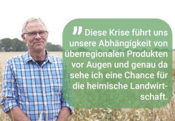 Chance für regionale Landwirtschaft