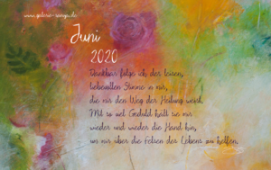 Willkommen im Juni 2020
